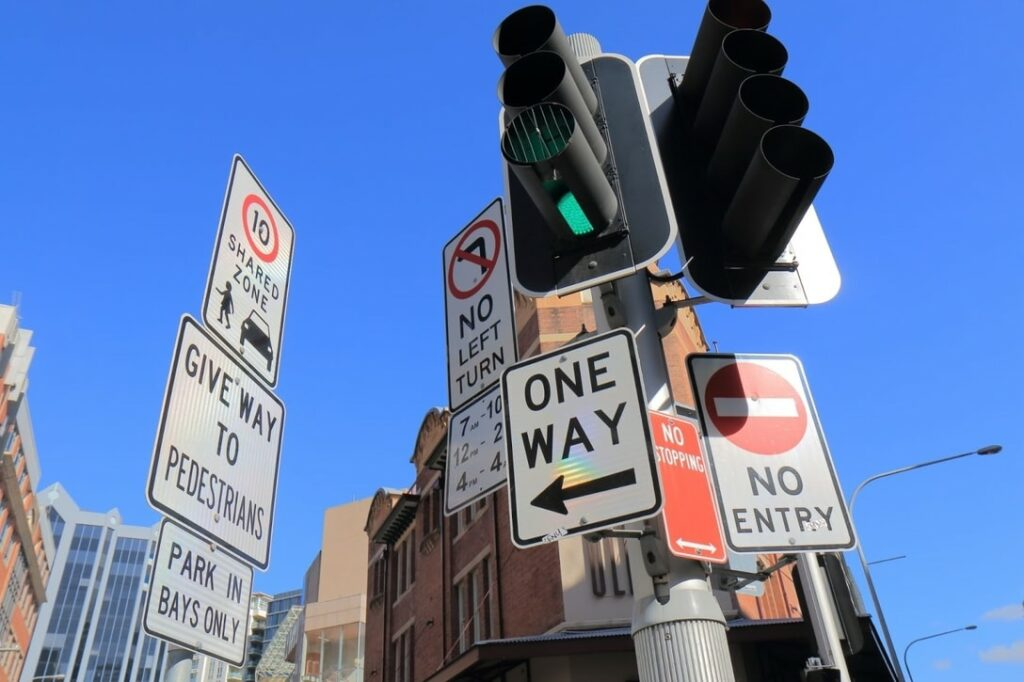 Road rules and myths